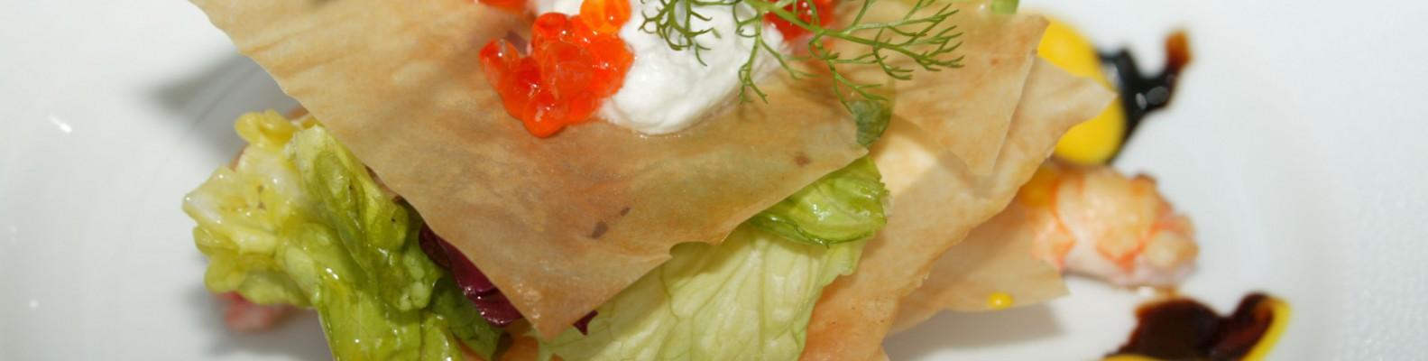 Plat restaurant la Licorne